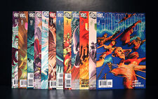 COMICS: DC: Justice #1-12 (2005), Justice League/ Alex Ross art - RARE
