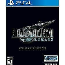 JUEGO PS4 FINAL FANTASY VII REMAKE DELUXE EDITION PS4 5942589