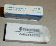 Vintage Staedtler mars - Plastic Eraser 525 50 Germany in box