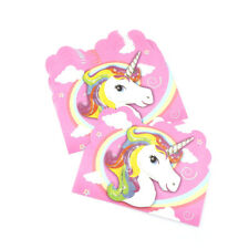 10pcs unicorn invitation card unicorn cards birthday wedding party invitation$-$