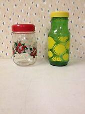 Poinsettia Jar & Anchor Hocking Lemonade Jar - Kitchen