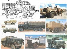 5 TON Military Truck M939 Series Emergency Parking Brake Shoe Set [B5S3]
