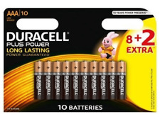 Pilas AAA - Duracell Plus Power LR03, 8 + 2 Uds