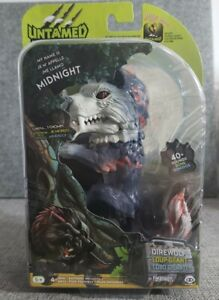 Fingerlings Untamed Dire Wolf Midnight Interactive Figure! NEW!