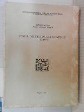 STORIA DELL ECONOMIA MONDIALE 1790 1970 Frederic Mauro 1980 libro contemporanea