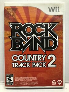 Rock Band Country Track Pack 2 - Nintendo Wii - Complete w/ Manual - Tested