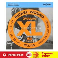 For D'Addario EXL110 Electric Guitar Strings 10 - 46  super sale AU