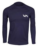 RVCA VA Sport  Long Sleeve Rashguard (Navy)