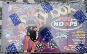 1999 WNBA sealed box Hoops autographics Cooper Holdsclaw Sales Azzi Staley