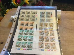 South West Africa X 6 Unmounted Blocks Of Stamps