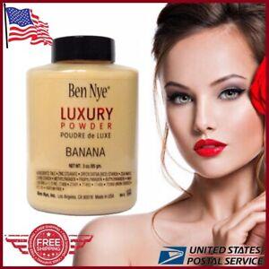 Ben Nye Banana Powder 3oz 85g Bottle Face Makeup Luxury Beige Powder USA Seller