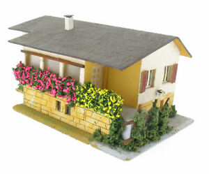 Faller 275 - Italienische Villa im Tessin - Spur H0 Eisenbahn Haus Holz House