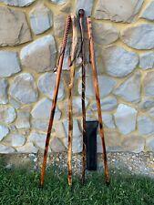Heartfelt History Classic Wooden Walking Sticks