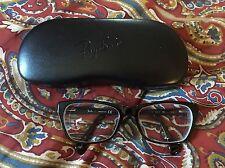 Ray Ban Womens Black Dark Brown Tortoise  Glasses Frames & Case RB5298