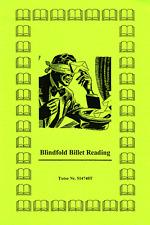 Blindfold Billet Reading, Gedankenlesen durch Umschläge
