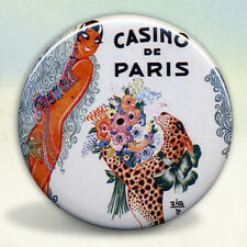 Josephine Baker with Cheetah pocket mirror tartx