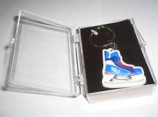 2014 Olympic Games Sochi Russia OFFICIAL Keychain Ice Skate in Plexiglas case