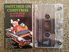 SWITCHED ON CHRISTMAS - 22 NON-STOP FAVOURITES CASSETTE TAPE VGC