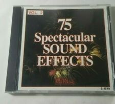 75 Spectacular Sound Effects, Vol. 2 (CD, 1994, Madacy)