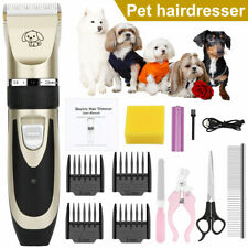 New listing Pet Hair Clippers Low Noise Dog Cat Grooming Clipper Electric Shaver Trimmer kit