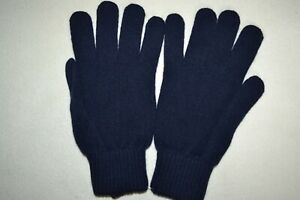 Paul Smith Mens Cashmere Gloves Navy Brand New