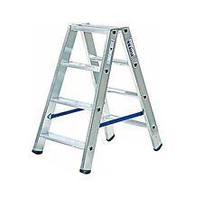 Krause 124722 STABILO Stufen-DoppelLeiter 2 x 4 Stufen Doppel Leiter 0,95 m