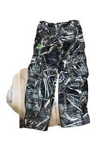 NEW Real Tree Max-5 Camo Cargo Hunting Pants Youth Boys S Lined Scent Control