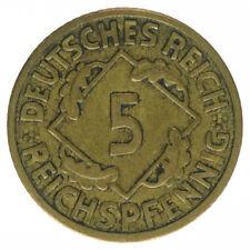 Deutsches Reich, 5 Reichspfennig 1926 F, A33280