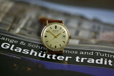 Men's 20 Microns Gold Plated Glashutte Spezimatic Date Automatic Watch from 70s