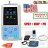 Contec pm50 patient monitor, vital signs ICU NIBP+Spo2+Pulse Rate, PC SW, USA