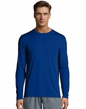 Hanes Men's Long Sleeve T-Shirt Men Cool DRI Performance Athletic Wicking XS-3XL