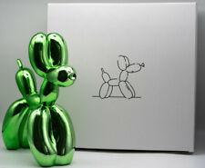Green balloon dog -(limited /999 Mint condit + COA)-not banksy no kaws koons