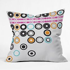 DENY Designs Brandon Dover Boggled Throw Pillow, 26-Inch by 26-Inch