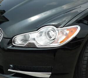IDFR JAGUAR 2008~2011 XF X250 Chrome frame bezel for head lights