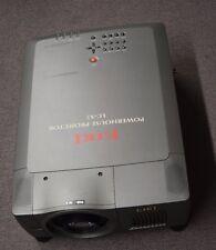 EIKI Powerhouse LC-X5 Projector 6500 ANSI Lumens LCD Bulbs Included PR60