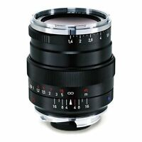New Carl ZEISS 35mm f1.4 DISTAGON T* ZM Lens ZM Leica M Mount BLACK Japan Made