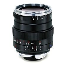 New Carl ZEISS 35mm f1.4 DISTAGON T* ZM Lens ZM Leica M Mount BLACK Japan Made
