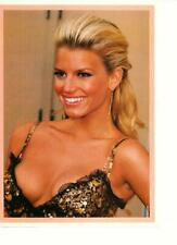 Jessica Simpson teen magazine pinup clipping 1990's double sided busty sexy