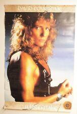 "Vintage Whitesnake David Coverdale Promo Poster 1987 Rare 23"" x 35"" Original"