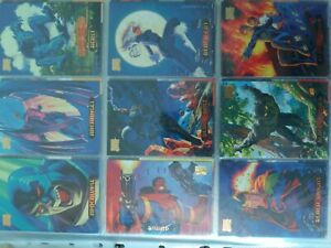1994 Marvel Masterpieces Full Base Set 140 Cards Fleer Corp