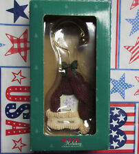 Boyds Collection Holiday Knitted Hat Picture Frame Christmas Ornament 25300