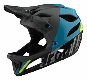 Troy Lee Designs Stage Full Face Helmet MIPS Nova Gray Size MD/LG