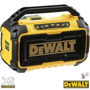 DeWalt DCR011 XR Bluetooth Speaker 12v-54v Li-ion Bare unit *No Battery*