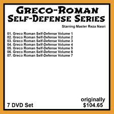 Reza Nasri's Greco Roman Wrestling for Self Defense Series (7 Dvd Set)