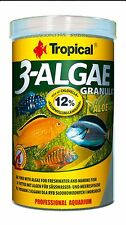 95g/250ml Tub Tropical 3-ALGAE GRANULAT food Algae for freshwater & marine fish
