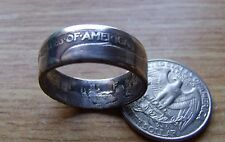 """COIN RING 900 SILVER 1934 WALKING LIBERTY """"UNITED STATES OF AMERICA"""" Size 11-16"""