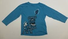 Crazy 8 Boys Size S (5-6) Blue Car Crusher Shirt Great Condition