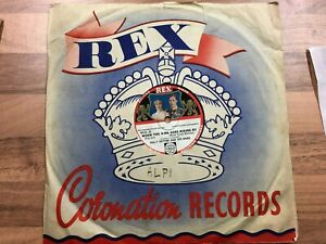 78rpm/REX 9024/BILLY COTTON/THE CORONATION WALTZ/WHEN THE KING GOES RIDING BY