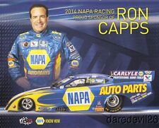 2014 Ron Capps Napa Auto Parts Dodge Charger Funny Car NHRA postcard