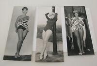 PAUL POPPER vintage Photo Foto Miss World France Holland 1959-64 Silbergelatine